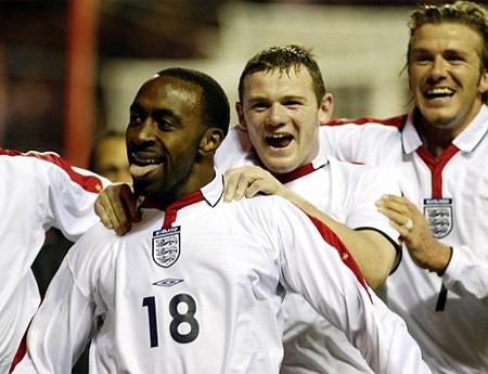 Tiền đạo trẻ của tuyển Anh đã gây ấn tượng mạnh khi cùng các  đồng đội có được chiến thắng