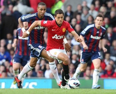 MU tái lập khoảng cách 15 điểm với Man Citynếu thắng Stoke City