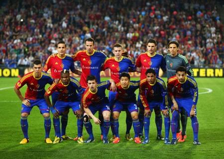 Đội hình ra sân của Basel tiếp Chelsea