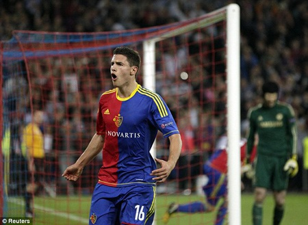 Một bàn thắng đem lại hy vọng cho Basel