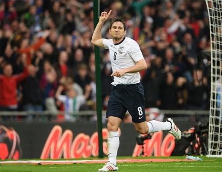 Lampard đã cứu tuyển Anh khỏi trận đấu bẽ mặt