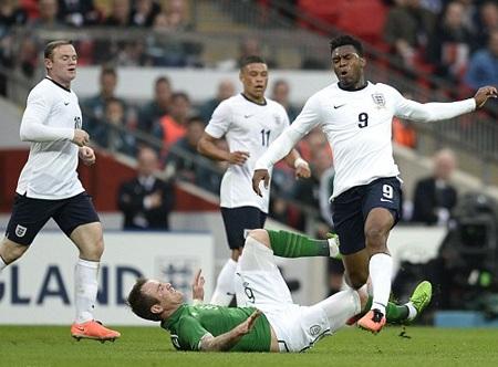 Sturridge lại vô duyên với tuyển Anh