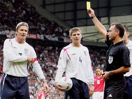 Sự thất vọng vô bờ bến của Becks, tuyển Anh đã bị loại