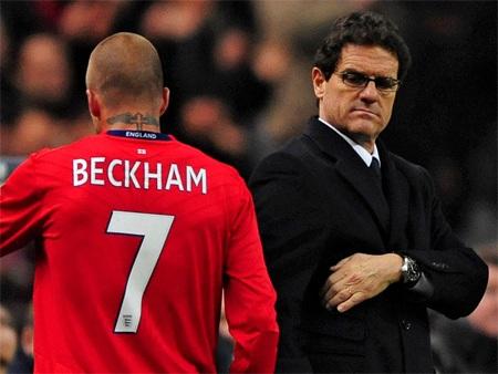 Tuyển Anh không qua được vòng loại Euro 2008 và Becks cũng bị xem là tội đồ