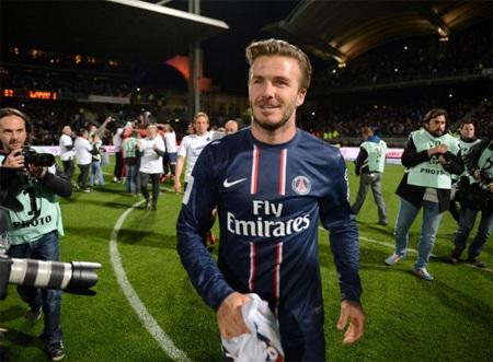 Sau khi cùng PSG đăng quang tại Ligue I vừa qua, Becks đã tuyên bố giã từ sân cỏ
