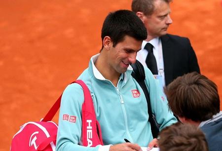 Djokovic đã không thể có chiến thắng chóng vánh