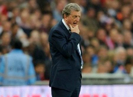 Hodgson chưa đặt được dấu ấn rõ nét từ khi làm HLV trưởng tuyển Anh