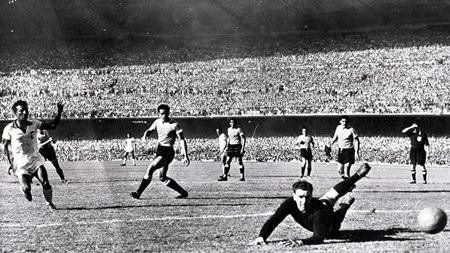 Uruguay đã hạ Brazil để lên ngôi vô địch thế giới năm 1950