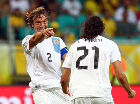 Với những Cavani, Suarez... Uruguay là đội bóng có nhiều cầu thủ giỏi