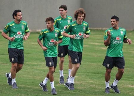 Brazil ung dung bước vào buổi tập cuối trước trận chung kết với Brazil