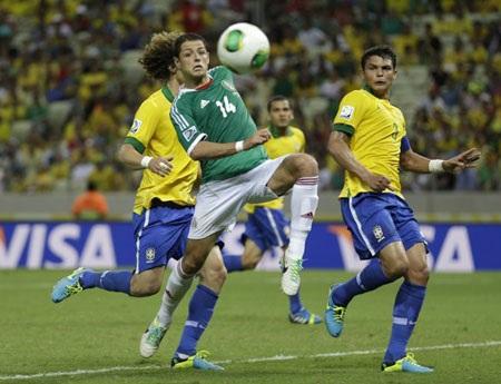 Mexico vẫn rất nhạt nhòa từ đầu giải