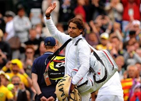 Nadal lần thứ 2 liên tiếp ôm hận tại Wimbledon