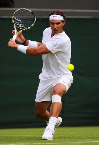 Nadal đã không có được phong độ tốt ở trận đầu