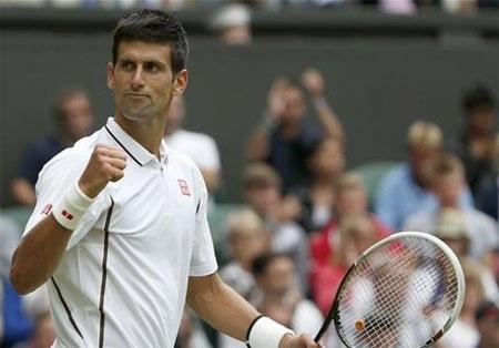 Djokovic đã nhập cuộc với sự thoải mái lớn
