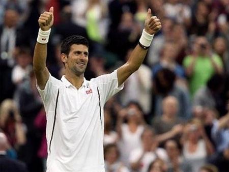 Djokovic đã thẳng tiến vào vòng 3