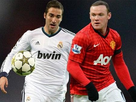 Rooney và Higuain sẽ là cặp song sát cho Arsenal