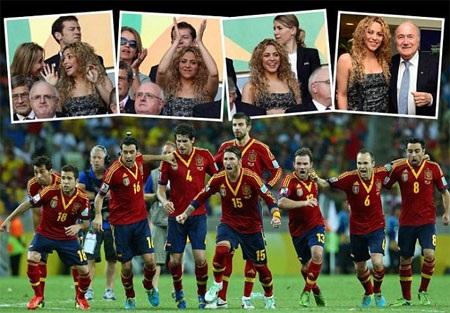 Tây Ban Nha tiếp tục thắng Italia