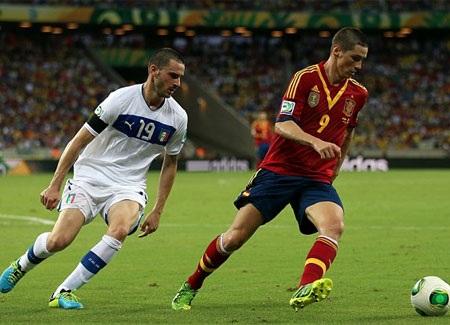 Tây Ban Nha đã chơi tốt hơn trong hiệp 2