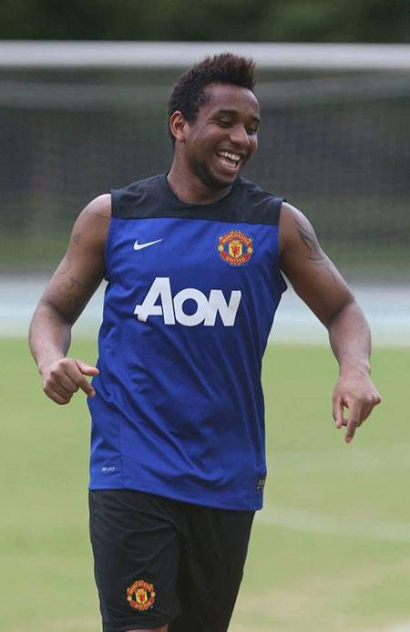 Anderson vẫn khá vui vẻ dù đang có tin đồn anh phải ra đi