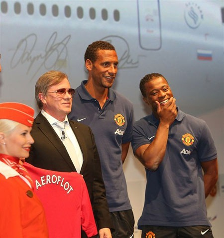 Rio Ferdinand và Patrice Evra