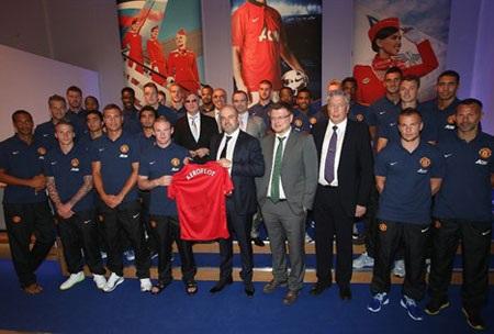 Rooney cũng có mặt tại sự kiện này