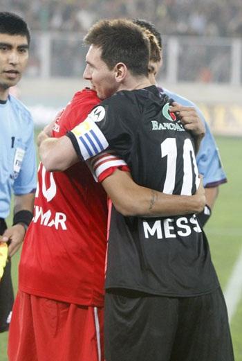 Mới đây, Messi đã dành những lời có cánh cho Neymar...
