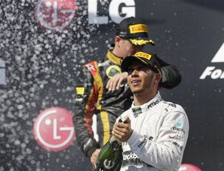 Chiến thắng thứ 2 liên tiếp của Hamilton tại Hungary