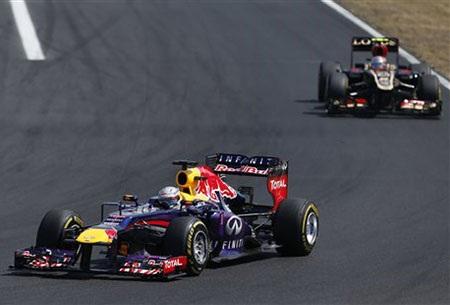 Vettel vẫn tiếp tục vững chắc ở ngôi đầu BXH