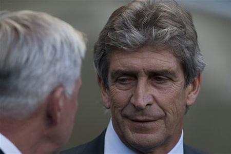 Pellegrini lần đầu tiên làm việc tại Premier League