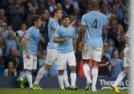 Một bàn thắng ý nghĩa đánh dấu sự trở lại của Aguero