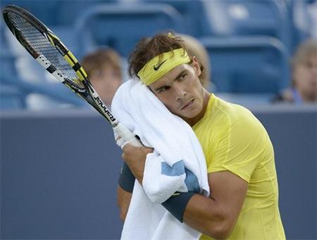 Nadal đã có một trận đấu vất vả