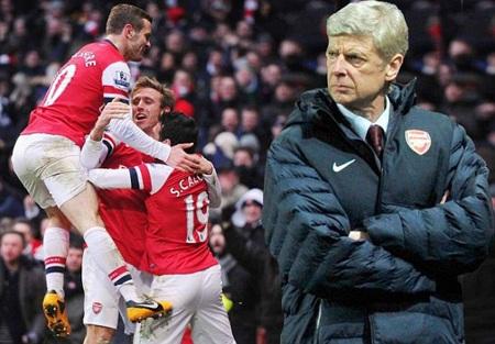 Arsenal vẫn là ứng viên nặng ký cho suất trong tốp 4