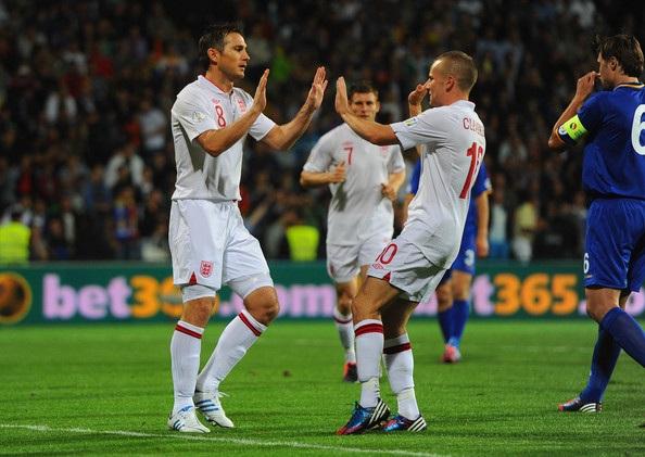 Tuyển Anh đã đại thắng Moldova tại Chisanau