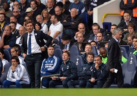Villas-Boas lần đầu tiên đối đầu với Mourinho