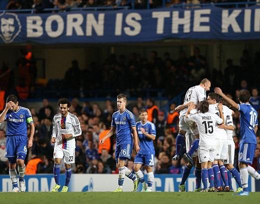 Lampard thất vọng khi đội nhà bị thủng lưới