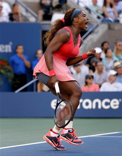 Serena ngập tràn hạnh phúc khi giành chiến thắng
