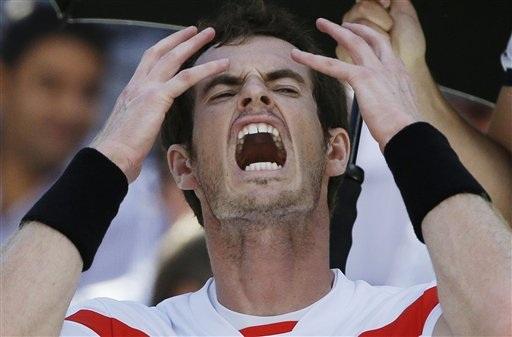 Sự thất vọng của Murray