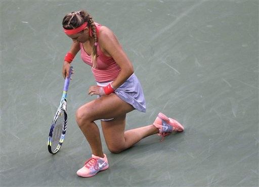 Vika có phong độ không cao ở trận chung kết