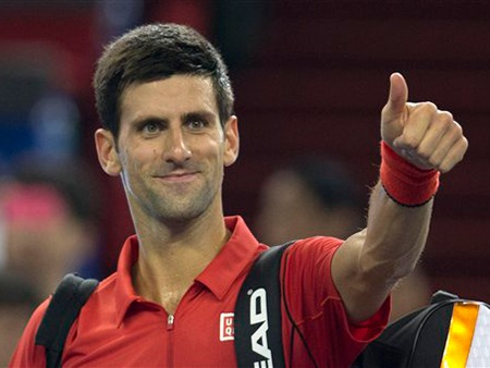 Djokovic đã dễ dàng tiến bước vào vòng 3