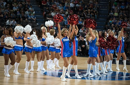 Đội cổ vũ của Philadelphia 76ers