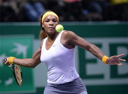 Serena Williams đã tiếp tục thi đấu thăng hoa