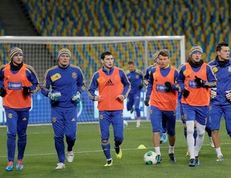 Ukraina thua cả trong 3 lượt play-off gần đây