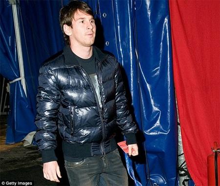 Messi trogn lần tham gia sự kiện ở Barcelona