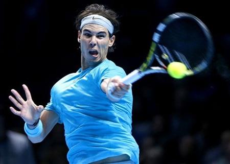 Chiến thắng đã thuộc về Nadal trong trận đối đầu với Federer