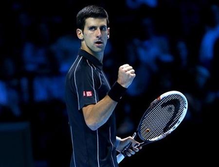 Djokovic chỉ còn cách ngôi vô địch 1 trận đấu