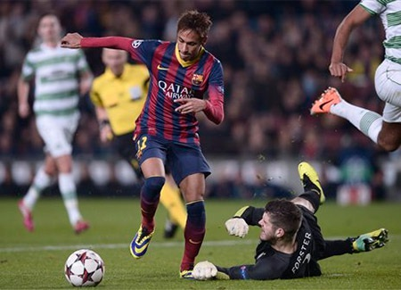 Barcelona thắng 4 hòa 1 thua 4, ghi 16 bàn và thủng lưới 4 bàn để đứng đầu bảng H