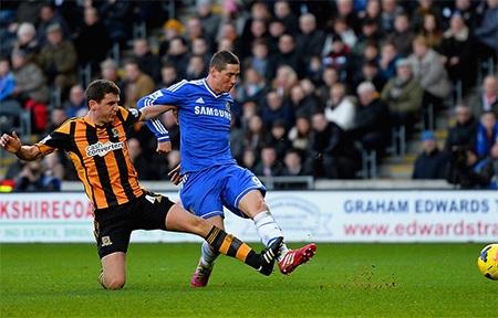 Torres để lại ấn tượng với bàn thắng nâng tỉ số lên 2-0