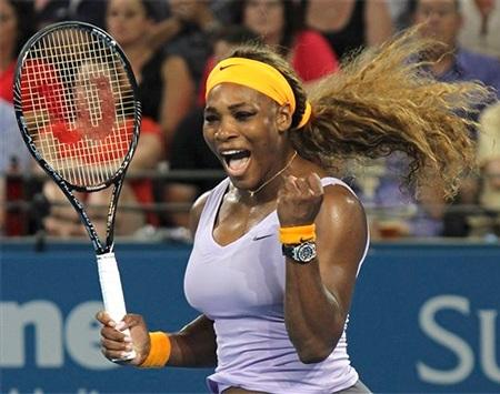 Serena đang thách thức ngôi vô địch của Vika