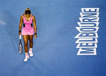 Venus phải chia tay Úc mở rộng ở nội dung đánh đơn chỉ sau 1 trận