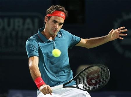 Federer đã giành quyền vào tứ kết